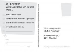 Postkarte frei